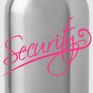 Security Camisetas - Cantimplora