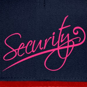 Security T-Shirts - Snapback Cap