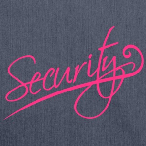 Security T-shirts - Schoudertas van gerecycled materiaal