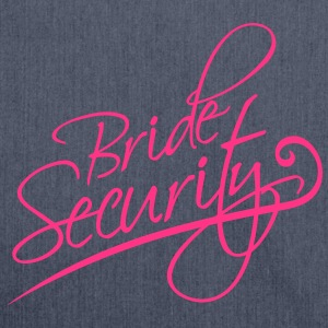 Bride Security T-shirts - Schoudertas van gerecycled materiaal