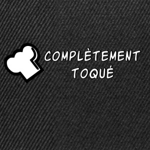 completement toqué blanc Tee shirts - Casquette snapback