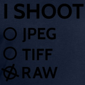 I shoot raw T-Shirts - Men's Sweatshirt by Stanley & Stella