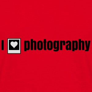 i heart photography - i love photography Bags & backpacks - Men's T-Shirt