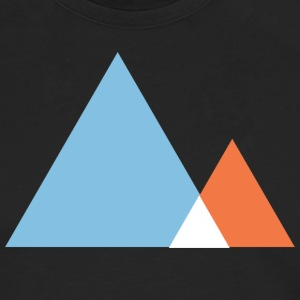 Abstract Mountains Symbol T-Shirts - Men's Premium Longsleeve Shirt