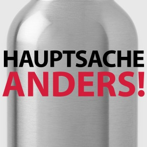 Männershirt Hauptsache anders! Gay Pride - Trinkflasche