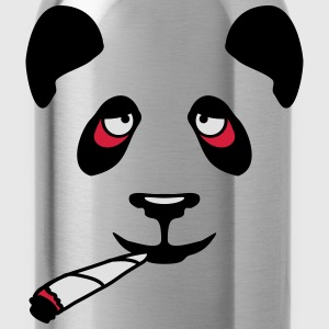 High Panda Face T-shirts - Vattenflaska