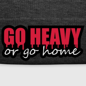 Go Heavy Or Go Home T-Shirts - Winter Hat