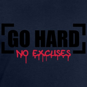 Go Hard No Excuses T-Shirts - Men's Sweatshirt by Stanley & Stella