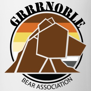 Logo 1 GRRRNOBLE BEAR ASSOCIATION Nounours - Tasse