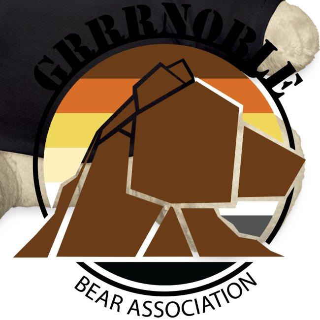 Mascotte GRRRNOBLE BEAR ASSOCIATION