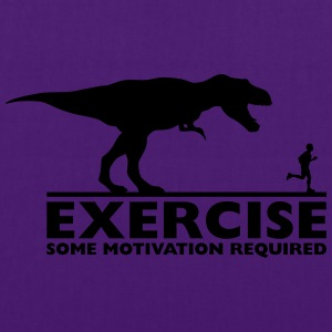 Exercise - some motivation required Pullover & Hoodies - Stoffbeutel