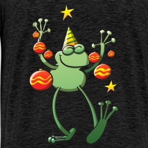 Christmas Decorations for a Frog Hoodies & Sweatshirts - Men's Premium T-Shirt