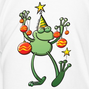 Christmas Decorations for a Frog Bottles & Mugs - Men's Premium T-Shirt