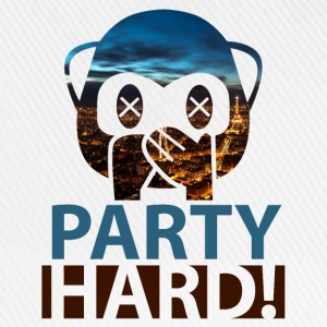 Party Hard! - Baseballkappe