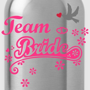 Stag Hen Last Night Out Team Bride Party Wedding T - Water Bottle