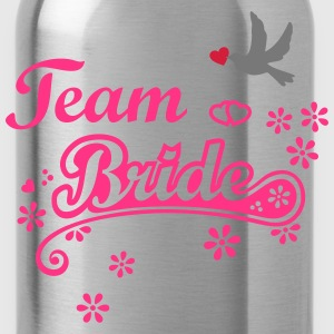Stag Hen Last Night Out Team Bride Party Wedding H - Water Bottle