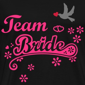 Stag Hen Last Night Out Team Bride Party Wedding H - Men's Premium T-Shirt