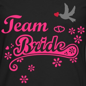 Stag Hen Last Night Out Team Bride Party Wedding H - Men's Premium Longsleeve Shirt