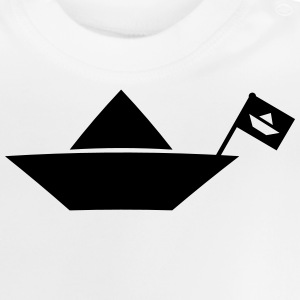 little ship lille skib T-shirts - Baby T-shirt