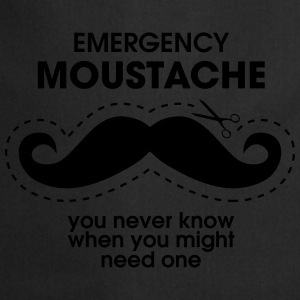 Emergency Moustache Tee shirts - Tablier de cuisine