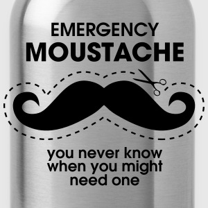 Emergency Moustache Tee shirts - Gourde