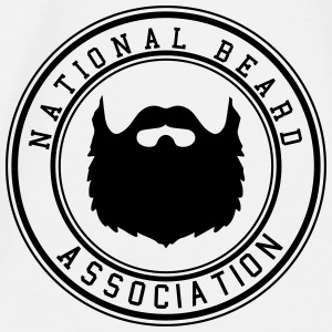 National Beard Association / Mustache Moustache 1c Accessoires - Männer Premium T-Shirt
