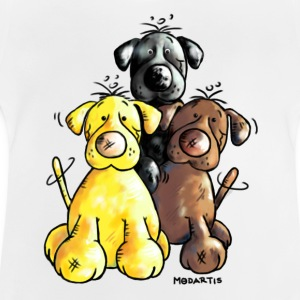 Labrador Retriever - Dog - Cartoon Shirts - Baby T-Shirt