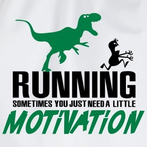 Running - Sometimes you just need a motivation T-Shirts - Turnbeutel