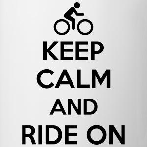 Keep calm and ride on Koszulki - Kubek