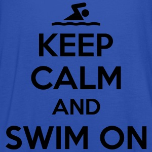 Keep calm and swim on T-paidat - Naisten tankkitoppi Bellalta