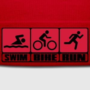 Triathlon - Swim, Bike, Run T-shirts - Wintermuts