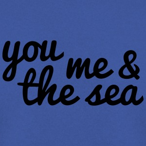 you, me and the sea toi, moi et la mer Sacs et sacs à dos - Sweat-shirt Homme
