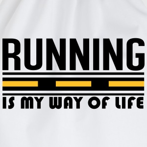 Running is my way of life T-Shirts - Turnbeutel