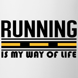 Running is my way of life T-skjorter - Kopp