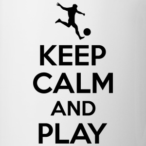 Keep calm and play Magliette - Tazza