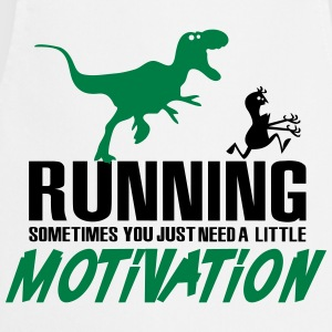 Running - Sometimes you just need a motivation T-shirts - Forklæde