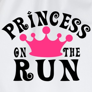 Princess on the run T-Shirts - Turnbeutel