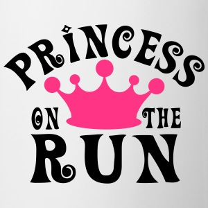 Princess on the run Tee shirts - Tasse