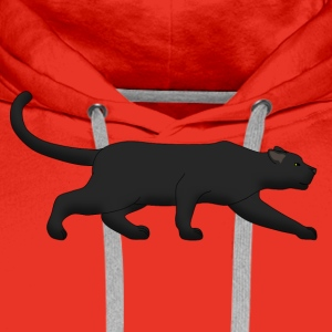 black panther creeps T-shirts - Premiumluvtröja herr