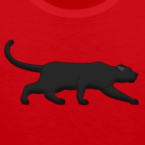 black panther creeps T-shirts - Premiumtanktopp herr
