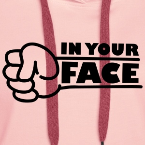 In Your Face Punch T-shirts - Premiumluvtröja dam