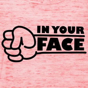 In Your Face Punch T-shirts - Vrouwen tank top van Bella