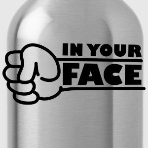 In Your Face Punch T-shirts - Drinkfles