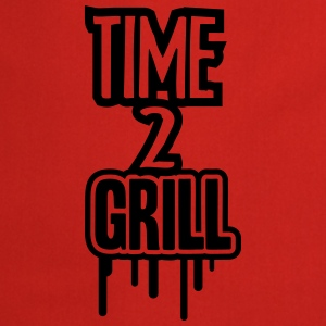 Time 2 Grill T-Shirts - Cooking Apron