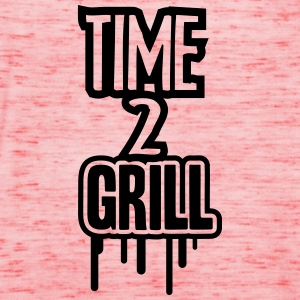 Time 2 Grill T-Shirts - Women's Tank Top by Bella