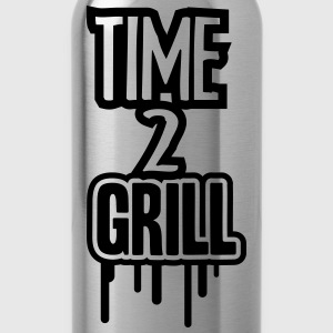 Time 2 Grill T-shirts - Drikkeflaske