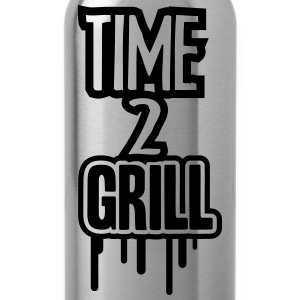Time 2 Grill T-Shirts - Water Bottle