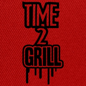 Time 2 Grill T-shirts - Snapback Cap