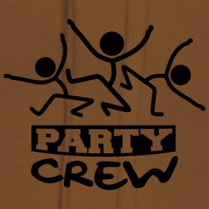 Party Crew Stick Figures T-Shirts - Women's Premium Hoodie