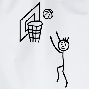 Basketball player - basketball net Tee shirts - Sac de sport léger
